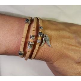 Bracelet triple nature 3