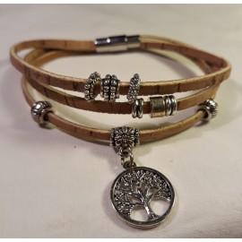 Bracelet triple nature 5