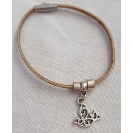 Bracelet liège colombe