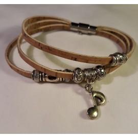 Bracelet triple nature 4